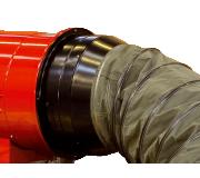 Адаптер подкл. рукава O500 мм(с противоогневой задвижкой) для теплогенераторов Ballu-Biemmedue PHOEN 02AC558