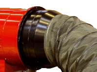 Адаптер подключения рукава O350 мм на входе для теплогенераторов Ballu-Biemmedue EC 55 02AC628