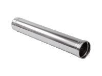 Труба отвода отраб. газов  из нерж.стали 1 м(диаметр 150 мм) для теплогенераторов Ballu-Biemmedue 02AC285