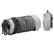 Комплект: рукав гибкий из ПВХ (O700 мм, длина 6 м), сумка и фиксирующий ремень для теплогенераторов 02AC568