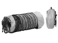 Комплект: рукав гибкий из ПВХ (O500 мм, длина 6 м), сумка и фиксирующий ремень для теплогенераторов 02AC566