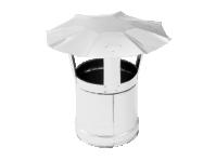 Зонт дымохода из нержавеющей стали (Диаметр 150 мм) для теплогенераторов Ballu-Biemmedue 02AC282
