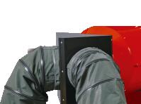 Адаптер на два выхода для крепления рукава O400 мм для теплогенераторов Ballu-Biemmedue PHOEN 02AC506