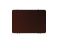 Электропанель Campa Campaver (горизонтальная) CMUP 20 HBRUN 2000W коричневый