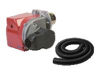 Переходник шланга для забора чистого воздуха для теплогенераторов Ballu-Biemmedue JUMBO 65, JUMBO 90 02AC602